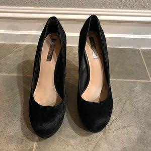 BCBG MAZAZRIA Cowhide heels